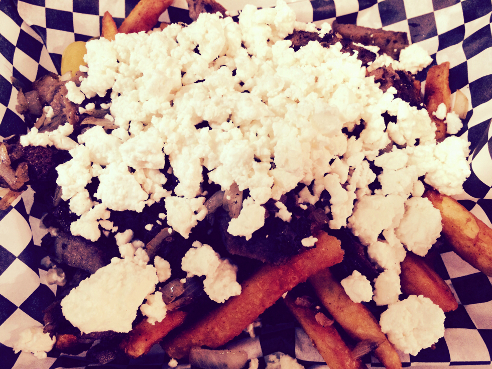 45.Greek Fries