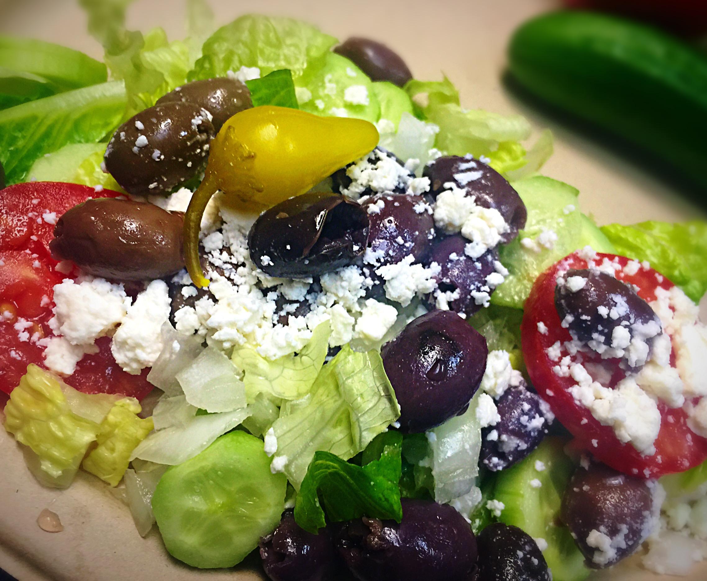 14.Greek Salad