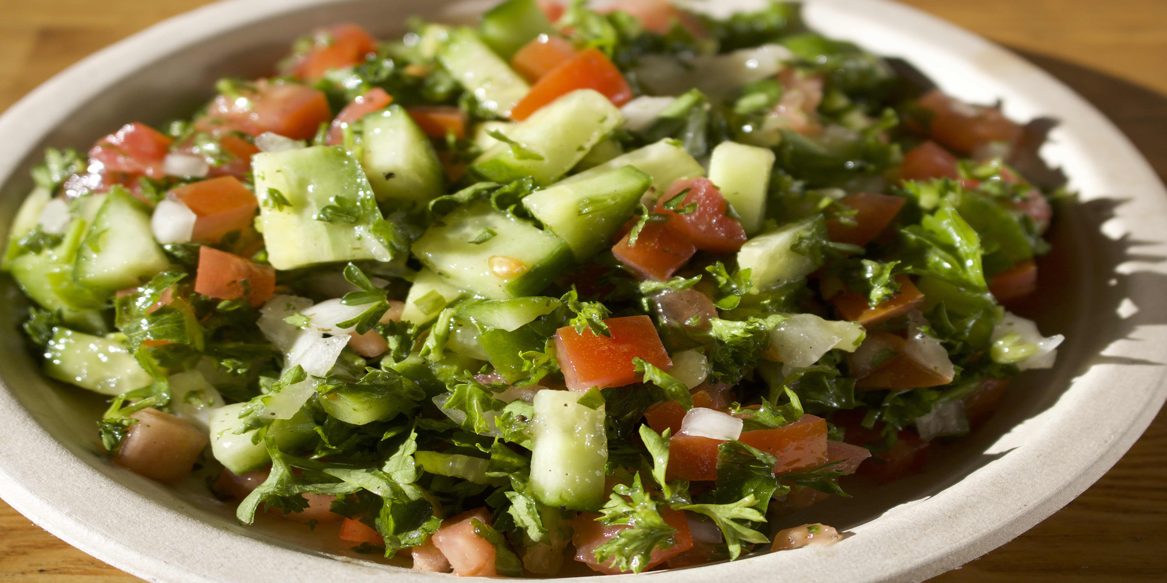 16.Shirazi Salad