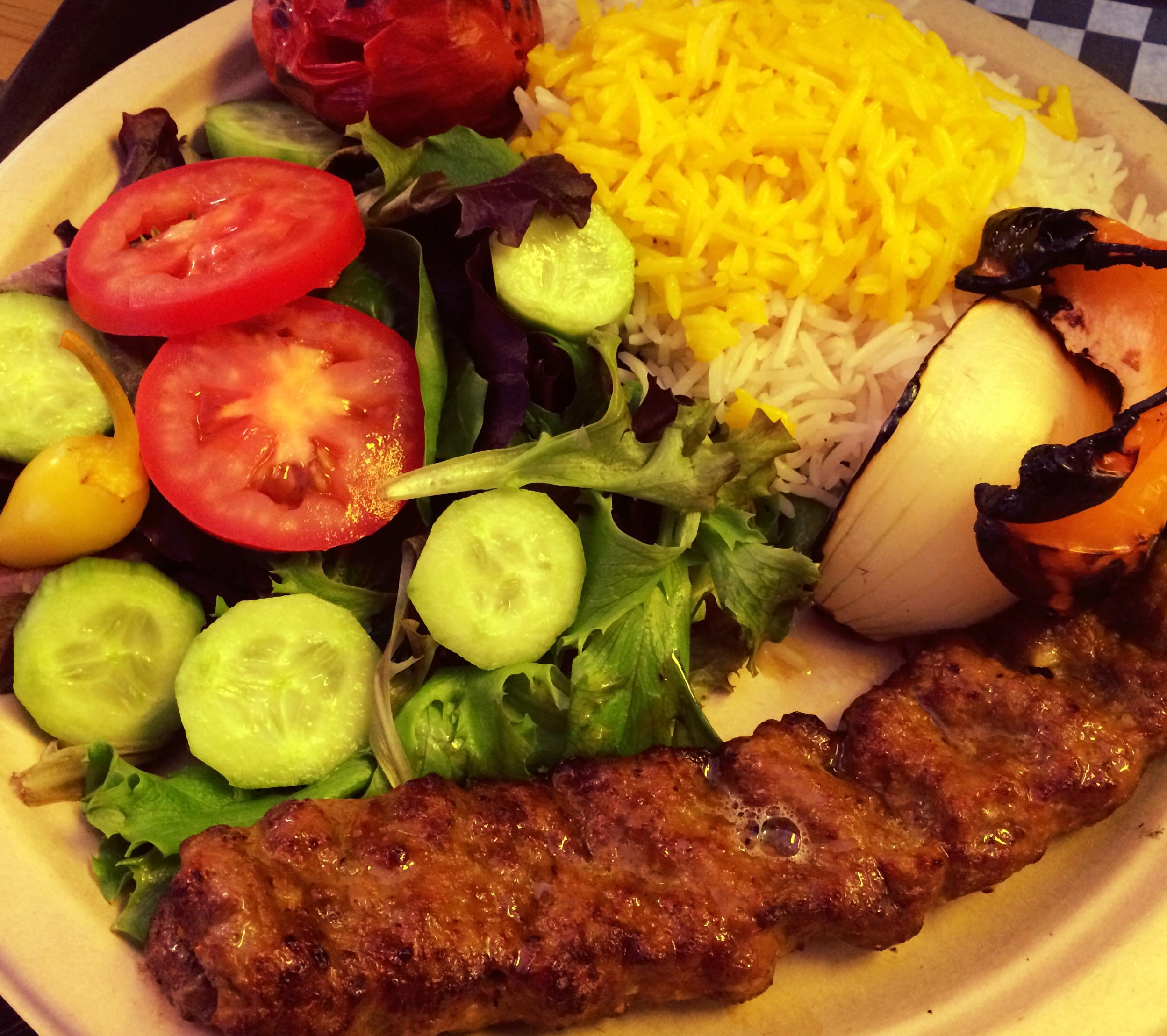 29.Lunch Beef Koobideh