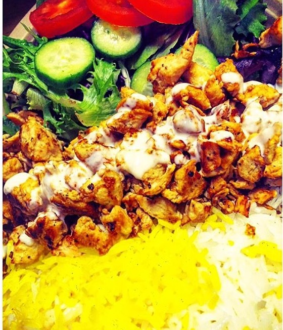 27.Lunch Shawarma Plate