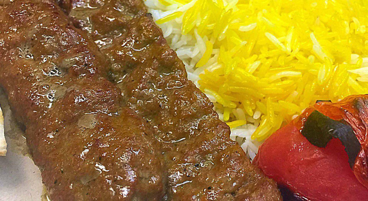 35.Beef Koobideh Kebab