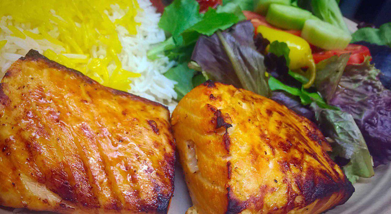 30.Salmon Kebab