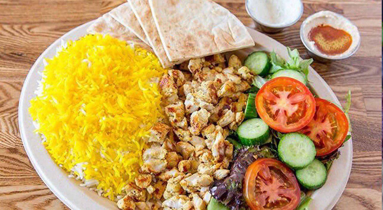 32.Chicken Shawarma Plate